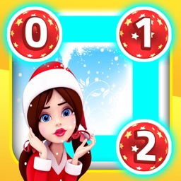 0 1 2 Three Christmas Dots: Magic Land for Santa Claus, Elves and Fairy Tale