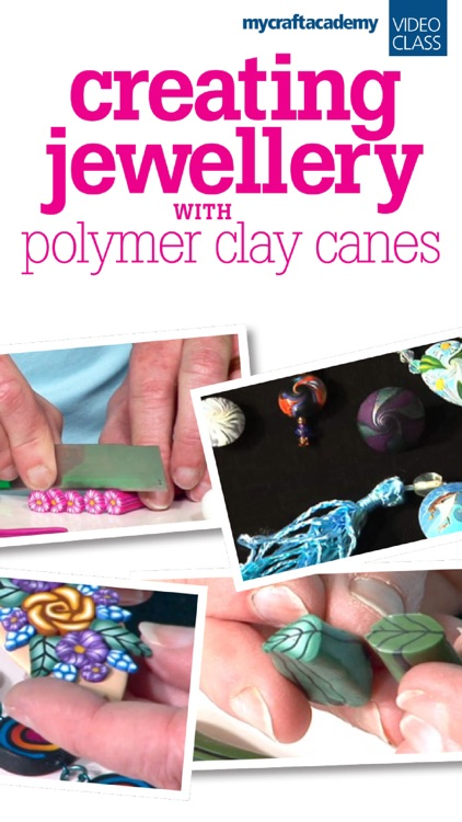 Creating Jewellery with Polymer Clay Canes