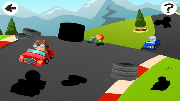 A Cars and Vehicles Learning Game for Pre-School Children screenshot-4