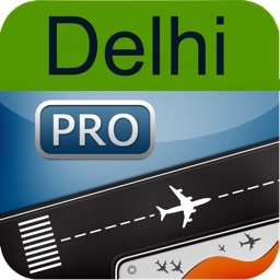 Delhi  Indira Gandhi Airport + Flight Tracker Premium HD air indigo Jet spicejet go India airways