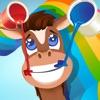 アクティブ!塗り絵の本 子供のための馬の: 学ぶ ペイントや馬を着色する
