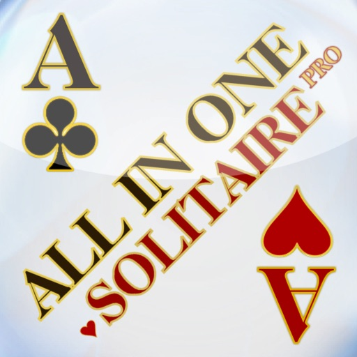 Solitaire All In One HD Pro - The Classic Card Game Full Deluxe Puzzle Pack for iPad & iPhone