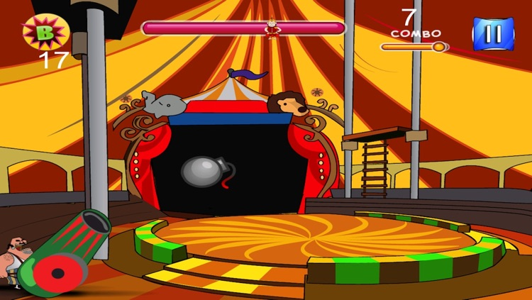 Circus Daredevil Cannon Blast screenshot-3