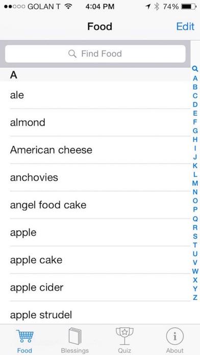 Screenshot for iBless Food in Venezuela App Store