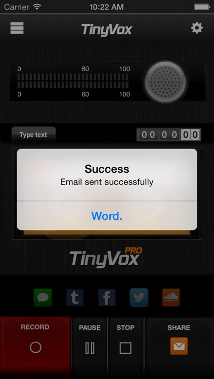 TinyVox Pro • voice memos for the win! screenshot-3