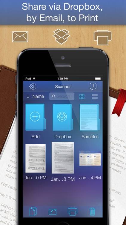 PDF Scanner - easily scan books and multipage documents to PDF screenshot-3