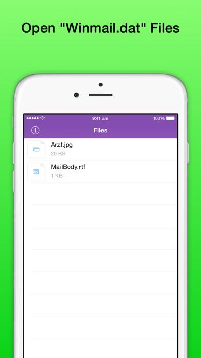 Winmail DAT File View... screenshot1