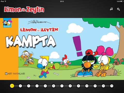 Limon Ile Zeytin Kampta By Mart Ajans Ios United States