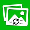 Image Converter - Afbeelding naar PNG, JPG, JPEG, GIF, TIFF