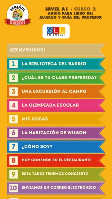 Español entre amigos 2 screenshot two