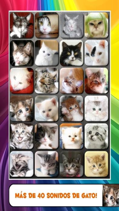 Ruidos talk Gato y gatito maúlla sonidosCaptura de pantalla de2