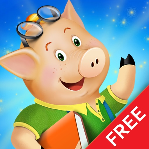 The three little pigs - preschool & kindergarten fairy tales book for kids Free