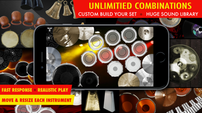 Drums XD - Studio Quality Percussion Custom Built By You! -