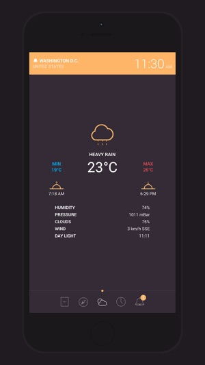 Globo - World Clock and Weather Screenshot