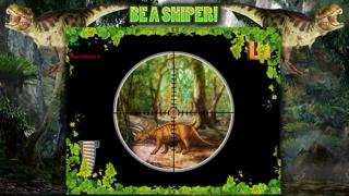 Dinosaur Hunt Sniper Game FREE screenshot two