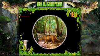 Dinosaur Hunt Sniper Game FREE screenshot two