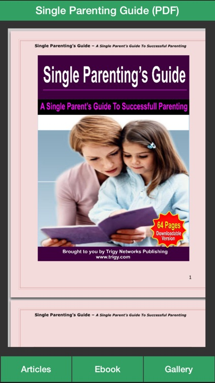 articles on single parenting