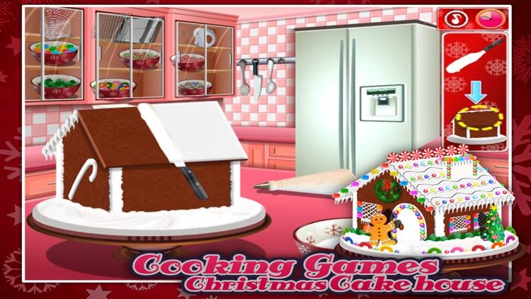 Cooking Games:Christmas Cake Hous screenshot-4