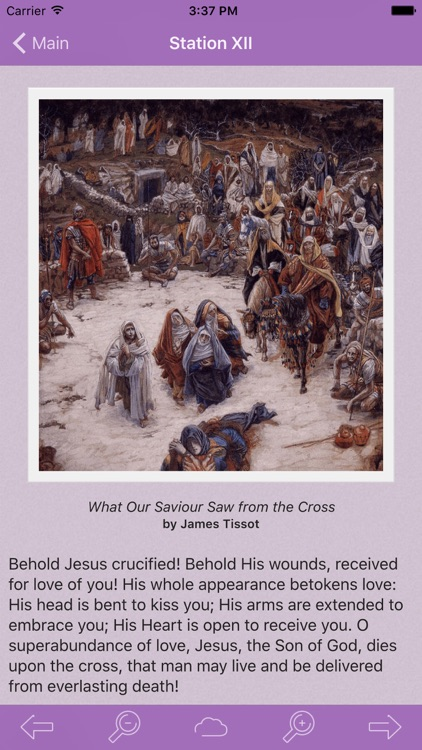 Via Crucis: Catholic Meditations on the Way of the Cross by St. Francis of Assisi