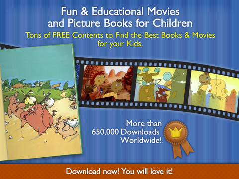 Children's Tales – An Educational app with the Best Short