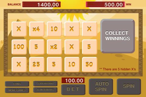 Slots - Pharaoh and Cleopatra Treasure Machine screenshot 3