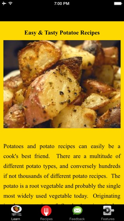 Easy & Tasty Potatoe Recipes