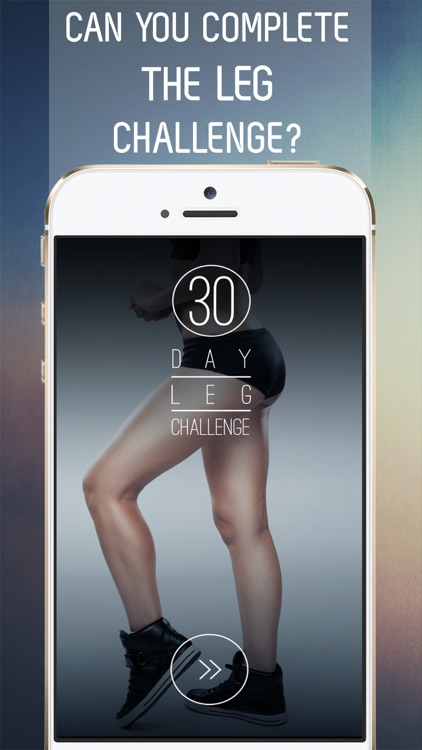 30 Day Leg Workout Challenge for Shaping and Toning Strong Legs