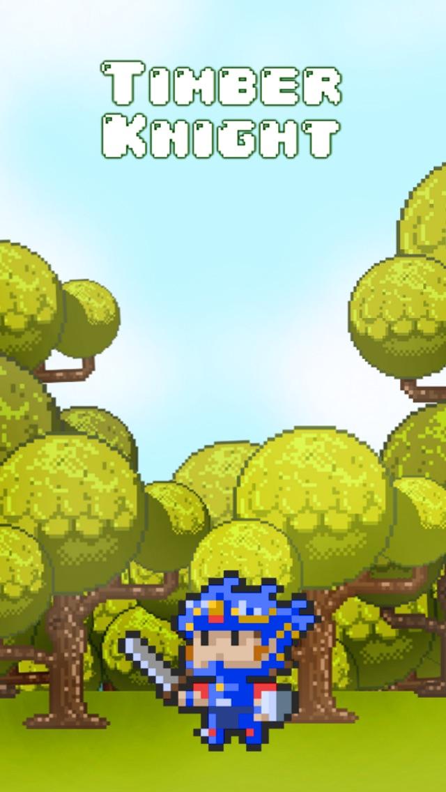 A Pixel Knight Timber - Fun Kids Games for Boys & Girls (8+) Free Screenshot