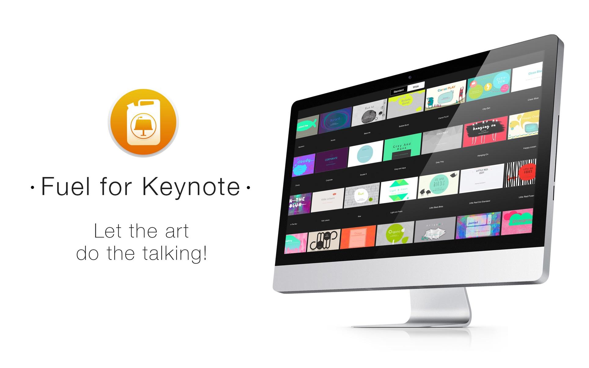 Fuel for Keynote Mac 破解版 Mac上精美的Keynote模板合集-麦氪搜(iMacso.com)