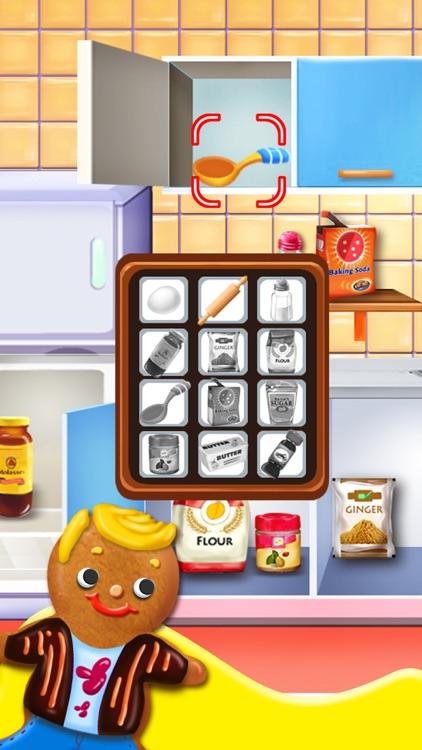 Gingerbread Kids - Christmas Food Games