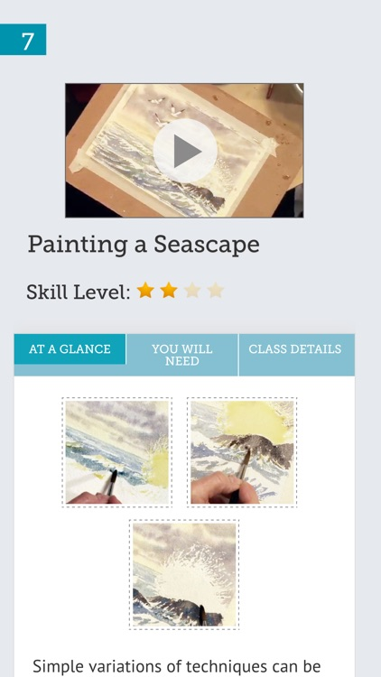 Watercolor painting for beginners screenshot-4