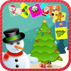 Activities of Christmas Match Pairs - Memory Training Game