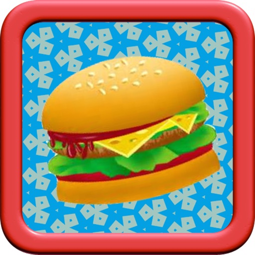 A delicious meal in happy restaurant: collect fast food free