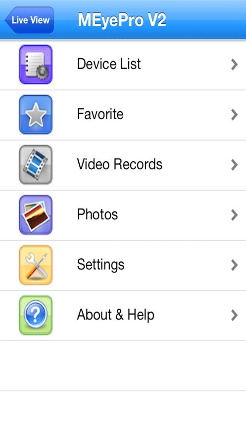 MEyeProV2 App 截图