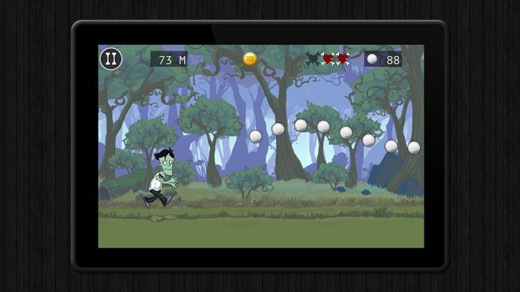 Zombie Run - Escape the Graveyard, endless free run game