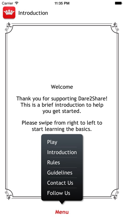 Dare2Share English screenshot-2
