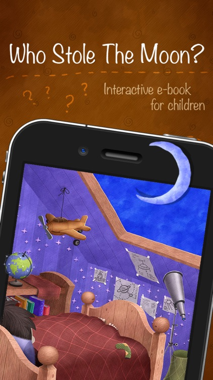 Who Stole The Moon? - free version - Interactive e-book for children (iPhone version)