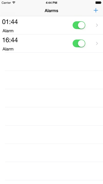 Healthy Alarm Clock screenshot-0