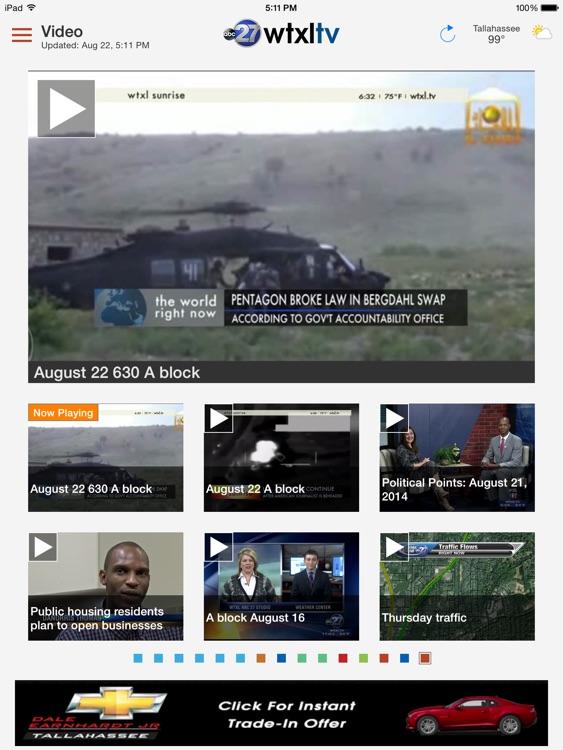 WTXL News App for iPad