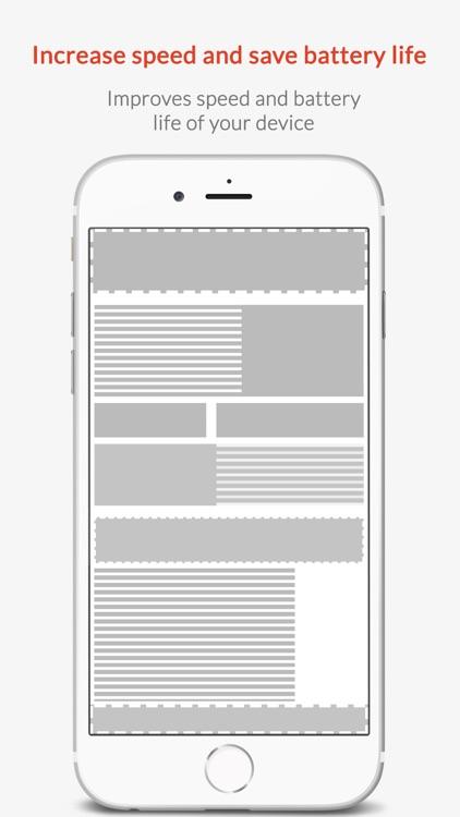 Ad Blocker - Block Ads, Browse Faster screenshot-4