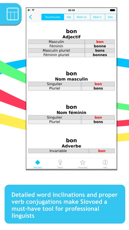 French <-> German Slovoed Deluxe talking dictionary screenshot-4