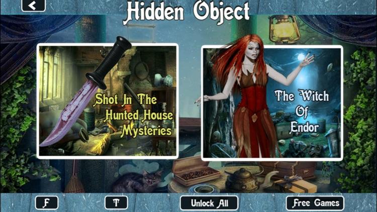 Horror Hidden Objects screenshot-3