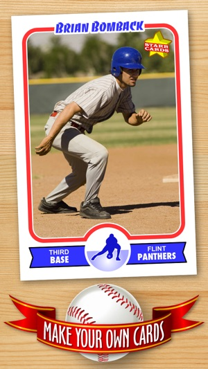 FREE Baseball Card Template Create Personalized Sports Cards - Baseball card template photoshop