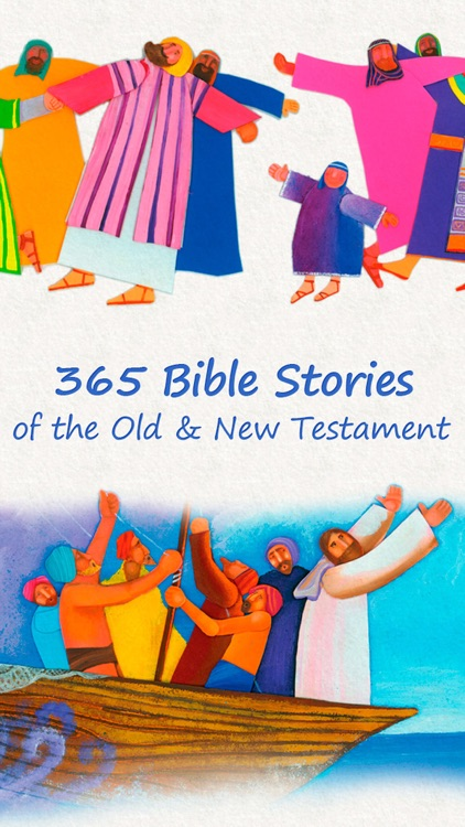 365 Bible Stories PREMIUM – A daily illustrated Bible short story for your Kid, Christian Family, Church and Sunday School screenshot-1