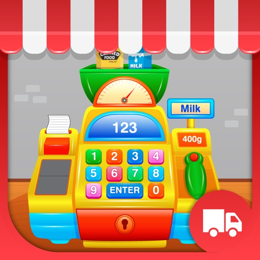My First Cash Register - Store Shopping Pretend Play for Toddlers and Kids