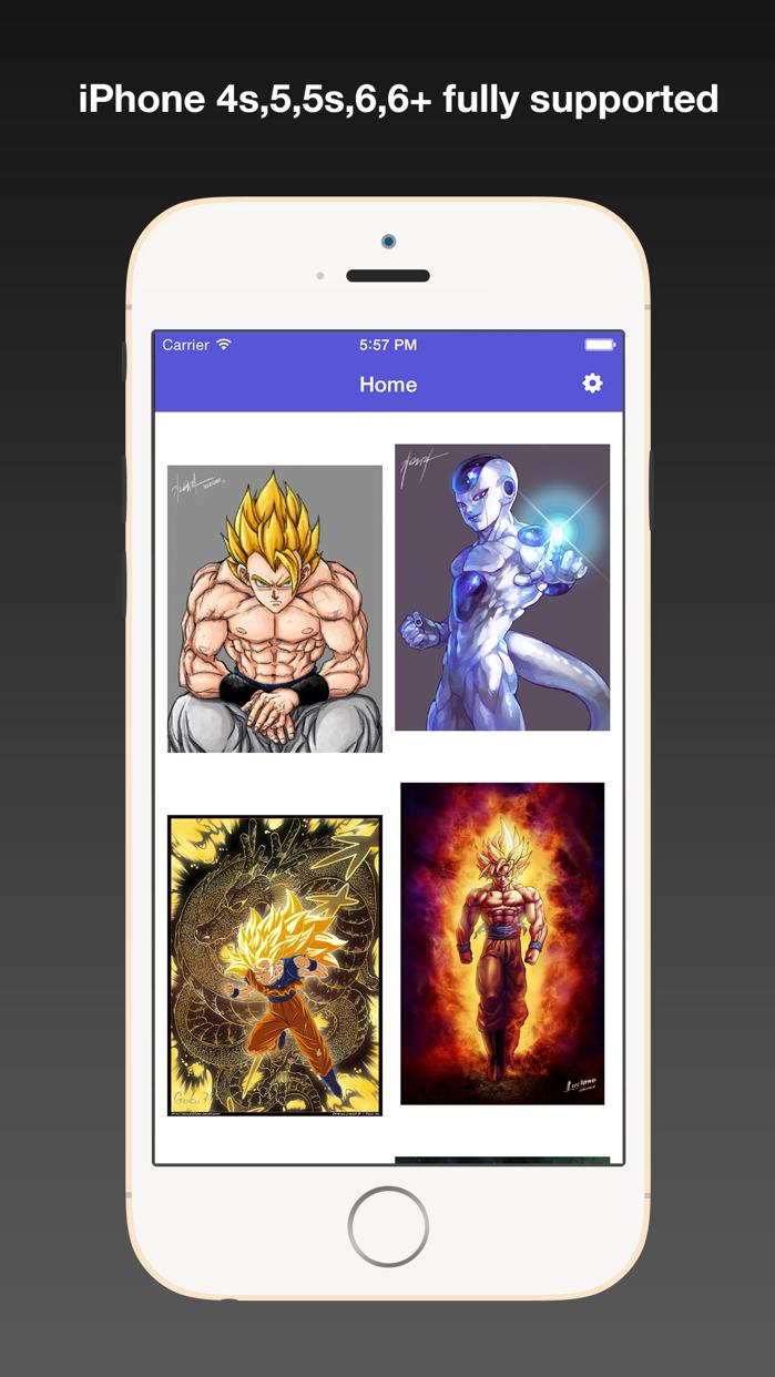 Dragon Ball Fan Art Wallpapers HD, Background & Themes with Cool HD Free Pics Screenshot