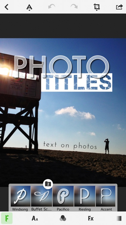 TitleFx - Write on Pictures, add Text Captions to Photos