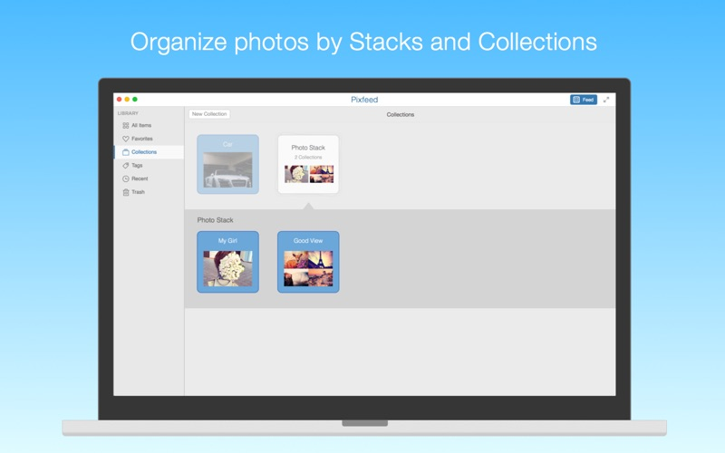Pixfeed for Flickr Screenshot