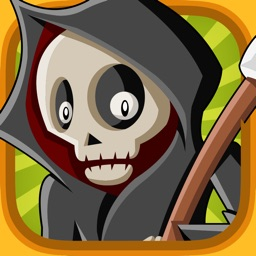A Halloween Learning Game for Children with Cute Monsters and Ghosts