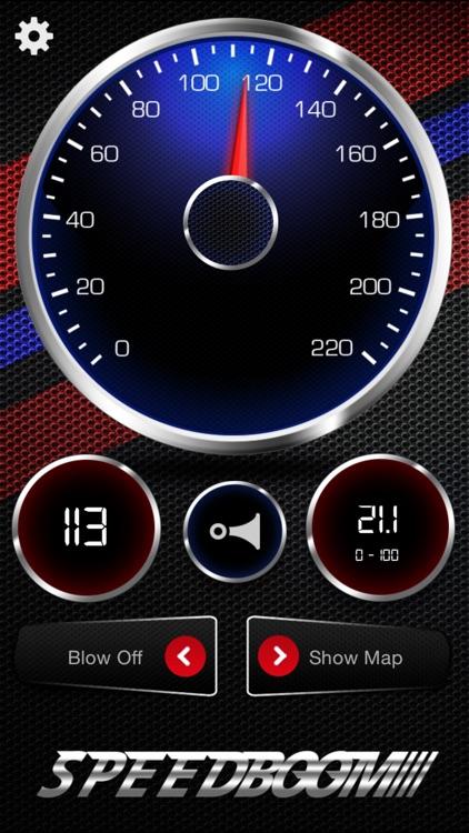 SpeedBoom - Speedometer With Turbo Sound